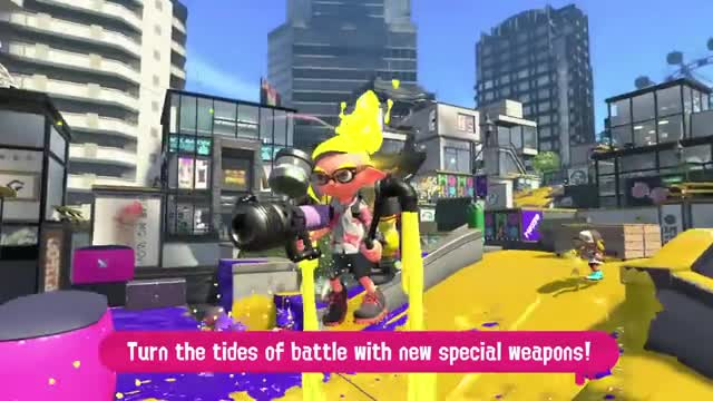 Splatoon 2 Launch Trailer - Nintendo Switch